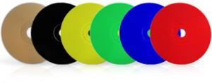 Exemples de couleurs disponibles pour votre fabrication CD ou DVD