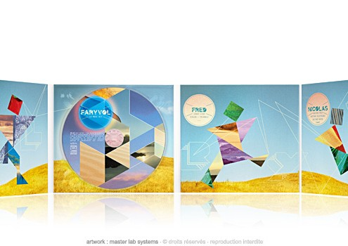 Faryvol - la muse rit - CD dgipack 4 volets