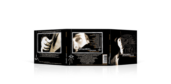 Franky texier - CD digipack 3 volets