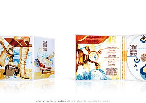 La shéké groove station - Funk me i'm nervous - CD boitier cristal