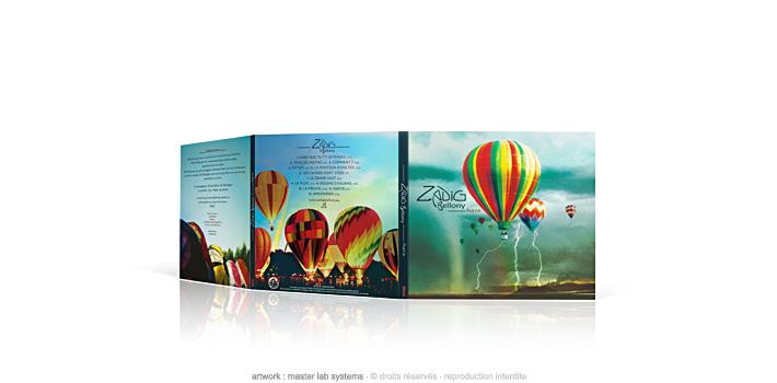 Zadig bellony - partir - CD digipack 3 volets