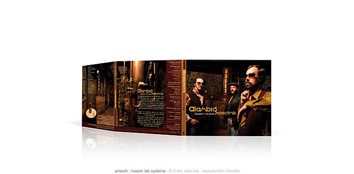 Alambig electrik - CD digipack 3 volets