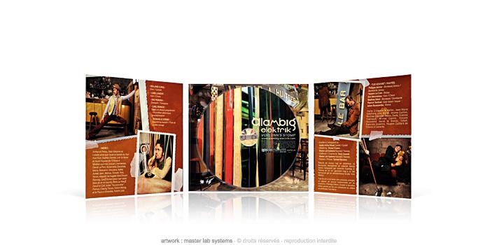 Alambig Elektrik - Vorlenn stomp - CD digipack 3 volets