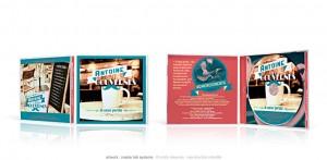 Antoine Mac Gouvernes - CD boitier cristal