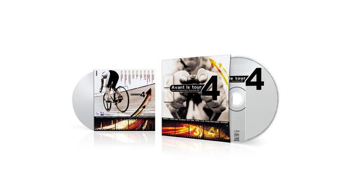 Avant le tour 4 - CD pochette carton