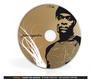 Exemple de pressage CD couleur Or (recto)