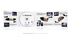 L'eklektik 3 - CD digipack 4 volets (intérieur)