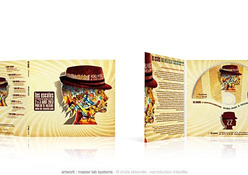 Festival les Escales 2013 - CD digifile