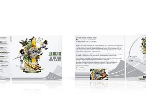 Festival les escales 2009 - CD digifile