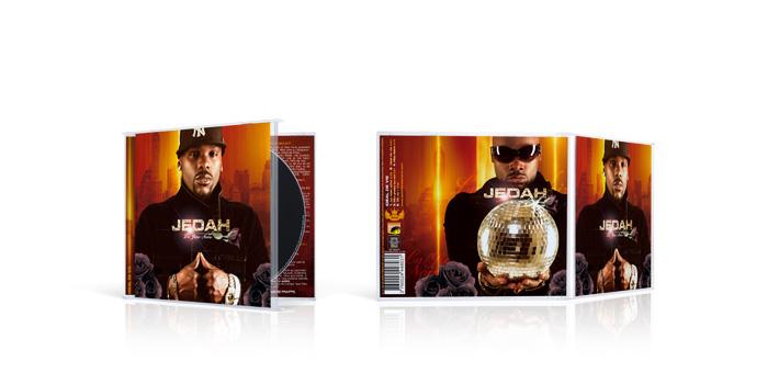 Jedah - la rse noire - CD boitier cristal