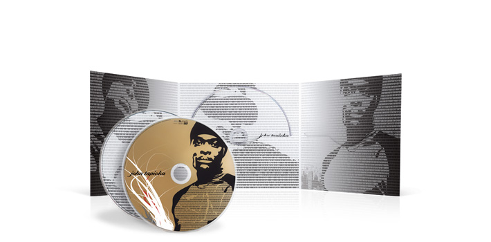 John tapioka - CD digifile 3 volets