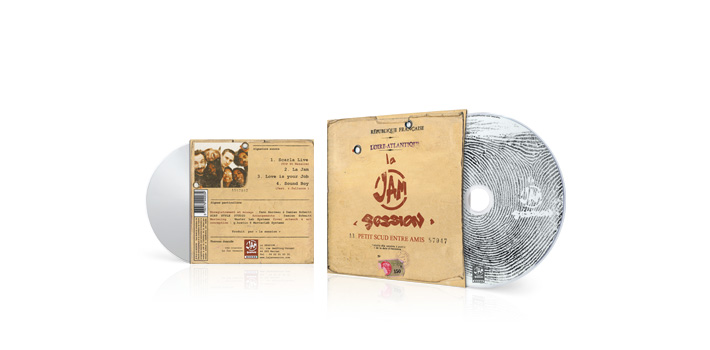 La jam session - CD pochette carton