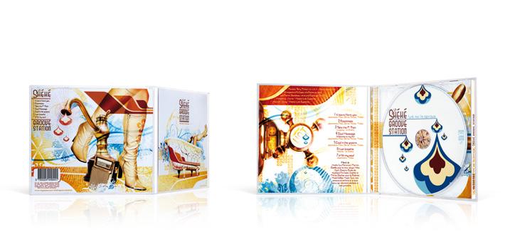 La sheke groove station - CD boitier cristal