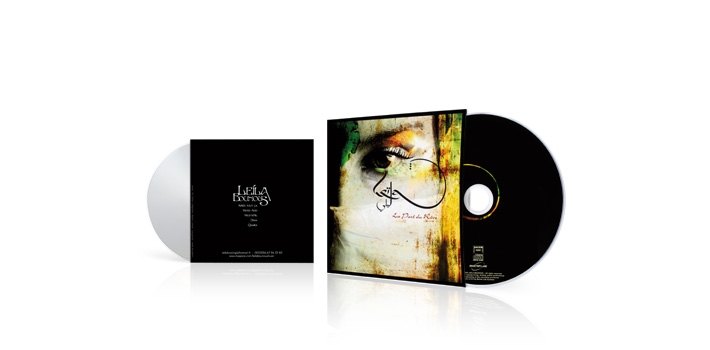 Leila bounous - CD pochette carton