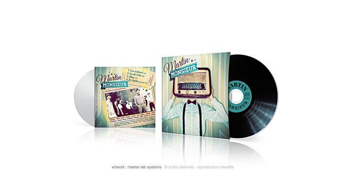 Martin monsieur - CD pochette carton