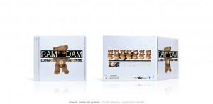 Ram-Dam 01 - CD boitier cristal