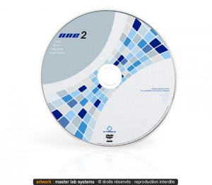 Exemple de pressage DVD-Rom (recto)