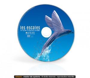 Exemple de pressage DVD video (recto - face imprimée)