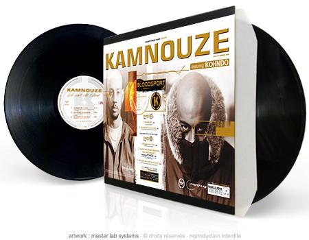 """pressage vinyl 12"""" kamnouze"""