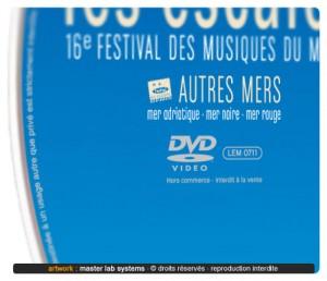 Zoom sur un disque DVD vidéo