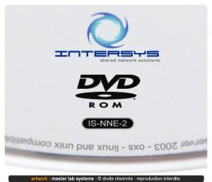 Zoom sur un pressage de disque DVD-ROM