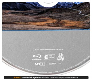Zoom sur une fabrication Blu-ray