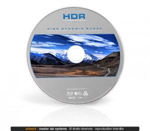 Pressage Blu-ray (face imprimée)