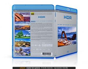 Exemple de pressage Blu-ray © (vue arrière)
