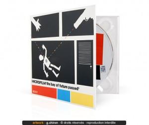 Exemple de découpe packaging pour pressage CD