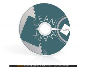 Exemple de pressage CD mini (vue face)