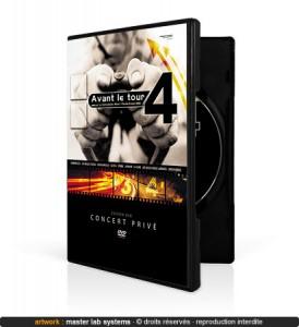Exemple de pressage DVD amaray avec livret (vue face)