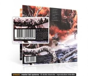 Exemple de taille d'un code barre pour un pressage CD digipack / DVD shortpack