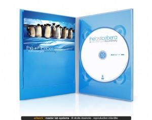 Exemple de pressage DVD digipack (vue intérieure)