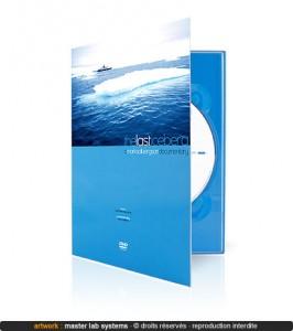 Exemple de pressage DVD digipack (vue extérieure)