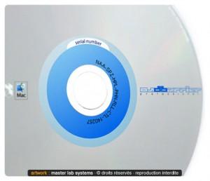 Exemple de pressage DVD numérotés