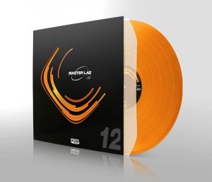 "Exemple de pressage vinyl 12"" couleur"