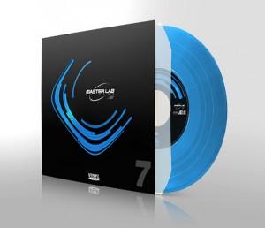 """Exemple de pressage vinyl 7"""" couleur"""