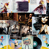 graphisme cd - graphisme vinyl