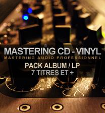 mastering cd vinyl album